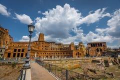 罗马建筑学在罗马市中心 库存图片