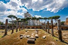 罗马建筑学在罗马市中心 图库摄影
