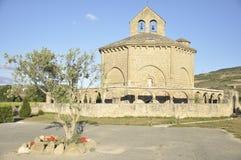 罗马式教会 免版税库存照片