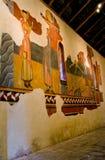 罗马式教会Sant霍安de Boi, la瓦勒de Boi,西班牙 库存图片
