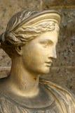 罗马式雕象 库存图片