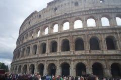 罗马意大利古老美丽的古老美丽的市旅行colloseum 免版税库存图片