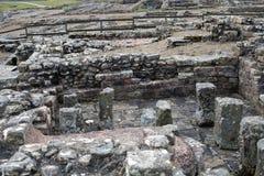 罗马战士浴房子 免版税库存图片