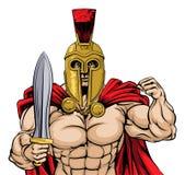罗马战士 免版税库存图片