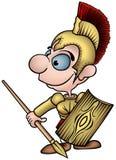 罗马战士 库存图片