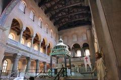 罗马教会 库存图片