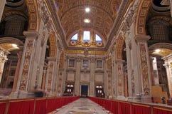 罗马教皇的大教堂 库存图片