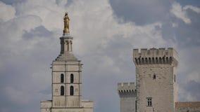 罗马教皇的宫殿,阿维尼翁 股票视频
