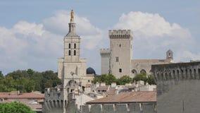 罗马教皇的宫殿,阿维尼翁 股票录像