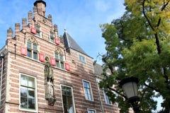 罗马教皇的房子在乌得勒支,荷兰 免版税库存图片