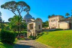 罗马教皇科学院在梵蒂冈在罗马 免版税库存图片