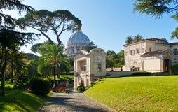 罗马教皇科学院在梵蒂冈 免版税库存照片