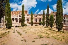 罗马斗兽场在罗马,意大利 库存照片
