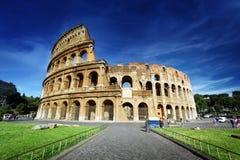 罗马斗兽场在罗马 免版税库存照片