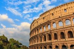 罗马斗兽场在罗马 免版税图库摄影