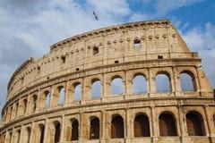 罗马斗兽场外部 库存照片