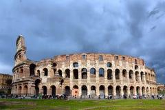 罗马斗兽场大剧场在罗马意大利 免版税库存照片