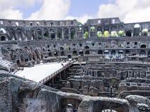 罗马斗兽场是市的偶象标志罗马意大利 免版税库存图片