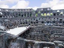 罗马斗兽场是市的偶象标志罗马意大利 免版税图库摄影