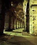罗马斗兽场曲拱,罗马,意大利。 库存照片