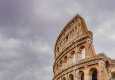 罗马斗兽场的细节在罗马 图库摄影