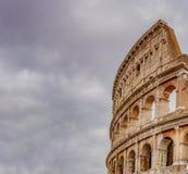 罗马斗兽场的细节在罗马 免版税图库摄影