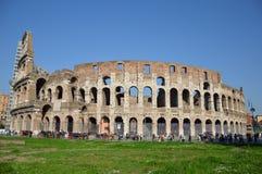 罗马斗兽场罗马意大利,罗马地标  免版税库存照片