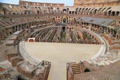 罗马斗兽场,大剧场或Coloseo, Flavian圆形露天剧场最大的被建立的标志罗马帝国的古老罗马市 免版税库存照片