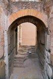 罗马斗兽场,大剧场或Coloseo, Flavian圆形露天剧场最大的被建立的标志罗马帝国的古老罗马市 库存图片