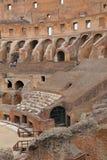 罗马斗兽场,大剧场或Coloseo, Flavian圆形露天剧场最大的被建立的标志罗马帝国的古老罗马市 免版税图库摄影