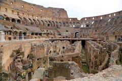 罗马斗兽场,大剧场或Coloseo, Flavian圆形露天剧场最大的被建立的标志罗马帝国的古老罗马市 库存照片