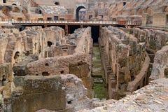 罗马斗兽场,大剧场或Coloseo, Flavian圆形露天剧场最大的被建立的标志罗马帝国的古老罗马市 免版税库存图片