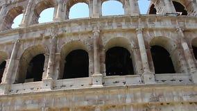 罗马斗兽场-罗马,意大利的主要旅游胜地 罗马文明古罗马废墟  影视素材