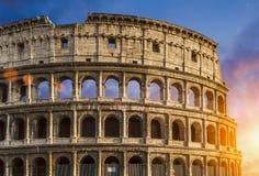 罗马斗兽场Colosseo在罗马 库存图片