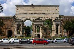 罗马是一个大门 免版税库存图片
