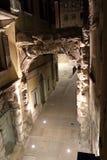 罗马曲拱在力耶卡 免版税图库摄影