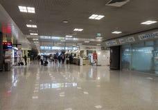 罗马机场 免版税库存图片