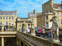 罗马桥梁在伦敦,英国 免版税图库摄影