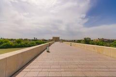 科多巴罗马桥梁  图库摄影