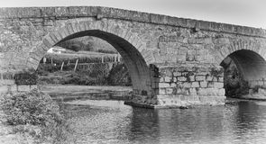 罗马桥梁,卡约埃尔考斯,葡萄牙 库存照片