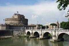 罗马桥梁 图库摄影