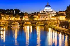 罗马梵蒂冈 库存照片