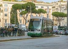罗马电车 库存图片