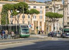 罗马电车 免版税库存照片
