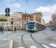 罗马电车 免版税库存图片