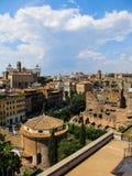 从罗马的一个看法 图库摄影