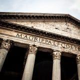 罗马的万神殿 免版税库存照片
