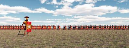 罗马的军队 免版税库存照片