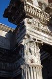 罗马的列 库存照片