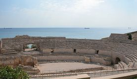 罗马的圆形露天剧场 免版税库存图片